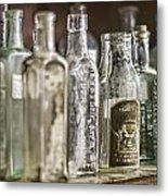 Bottle Collection Metal Print