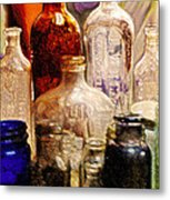 Bottled Metal Print