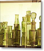 Bottled Light Metal Print