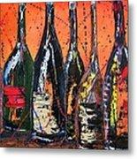 Bottle's Enjoyed Metal Print