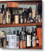 Bottles In General Store Metal Print