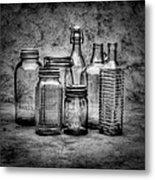 Bottles Metal Print