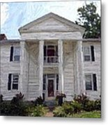 Bottom-mcafee-guthrie House - Perryville Ky Metal Print