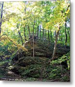Bottom Of Devil's Punchbowl Wildcat Den Metal Print