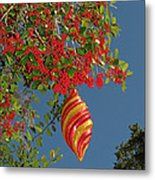Boughs Of Holly Metal Print