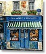 Boulangerie De Montmartre Metal Print