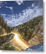 Boulder Canyon Dream Metal Print