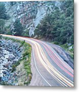 Boulder Canyon Drive And Commute Metal Print