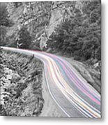 Boulder Canyon Drive And Selective Commute  Metal Print