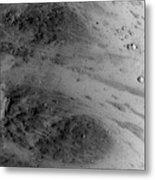 Boulder On Mars Metal Print