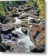 Boulder Stream Metal Print