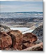 Boulders At Red Rocks Metal Print