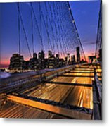 Bound For Greatness Metal Print