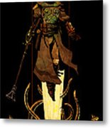 Bounty Hunter Rising Metal Print