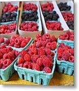 Bounty Of Berries Metal Print by Caitlyn  Grasso