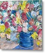 Bouquet 1 - Sold Metal Print