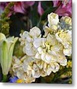Bouquet Flower Metal Print