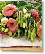 Bouquet In The Making Metal Print by Lainie Wrightson