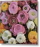 Bouquet Of Flowers Metal Print