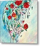 Bouquet Of Love Metal Print