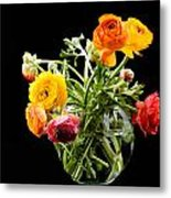 Bouquet Of Ranunculus Metal Print