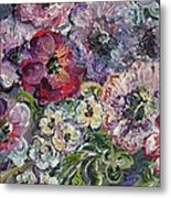 Bouquet Of Sweetness Metal Print