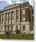 Bourbon County Courthouse 5 Metal Print