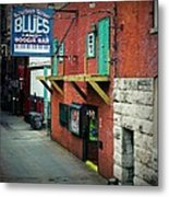 Bourbon Street Blues Metal Print