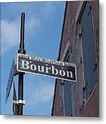 Bourbon Street Metal Print