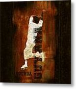 Bourda Cricket Metal Print