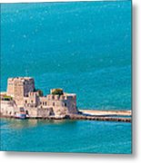 Bourtzi Fortress Metal Print
