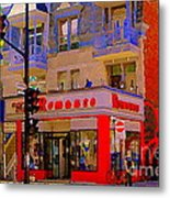 Boutique Erotique Romance Mont Royal The Love You Make Is Equal To The Love You Take City Scene Art Metal Print