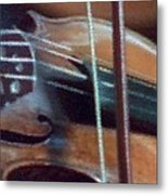 Bow And Strings Metal Print