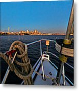 Bow And The Needle Metal Print