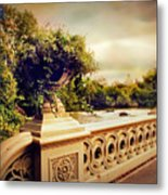 Bow Bridge View Metal Print