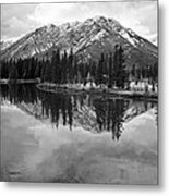 Bow River Banff Alberta Metal Print