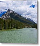 Bow River - Banff Metal Print