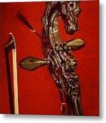 Bowed Lute Metal Print