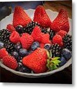 Bowl Of Fruit 1 Metal Print