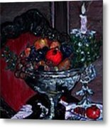 Bowl Of Holiday Passion Metal Print