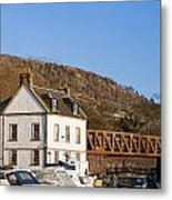 Bowling Harbour House Metal Print