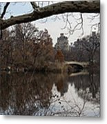 Bows And Arches - New York City Central Park Metal Print
