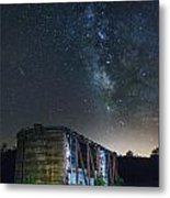Boxcar At Night Metal Print