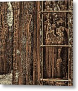 Boxcar's Ladder   Metal Print