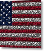 Boxed Flag Metal Print