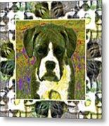 Boxer Dog 20130126 Metal Print