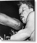 Boxer Near His Limit Metal Print