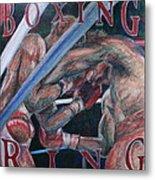 Boxing Ring Metal Print