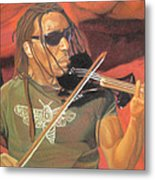 Boyd Tinsley At Red Rocks Metal Print