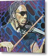 Boyd Tinsley Pop-op Series Metal Print by Joshua Morton